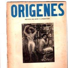 Coleccionismo de Revistas y Periódicos: ORIGENES. REVISTA DE ARTE Y LITERATURA. LA HABANA. 1945. Nº 7. AÑO II. VER SUMARIO. LEER.. Lote 147845018