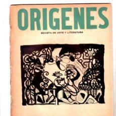 Coleccionismo de Revistas y Periódicos: ORIGENES. REVISTA DE ARTE Y LITERATURA. LA HABANA. 1945. Nº 8. AÑO II. VER SUMARIO. LEER.. Lote 147845614