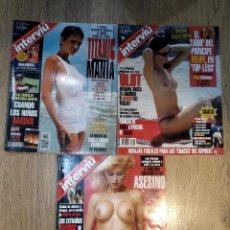 Coleccionismo de Revistas y Periódicos: 3 REVISTAS INTERVIU DEL AÑO 1998 I 1999. Lote 147874494
