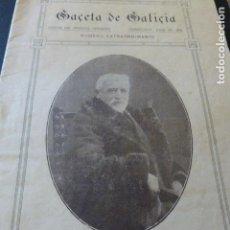 Coleccionismo de Revistas y Periódicos: GACETA DE GALICIA NUMERO EXTRAORDINARIO JILIO 1916 DEDICADO EUGENIO MONTERO RIOS SANTIAGO COMPOSTELA. Lote 147881842