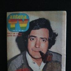 Coleccionismo de Revistas y Periódicos: REVISTA ANTENA TV, N°52, JUNIO 1981. Lote 147910922