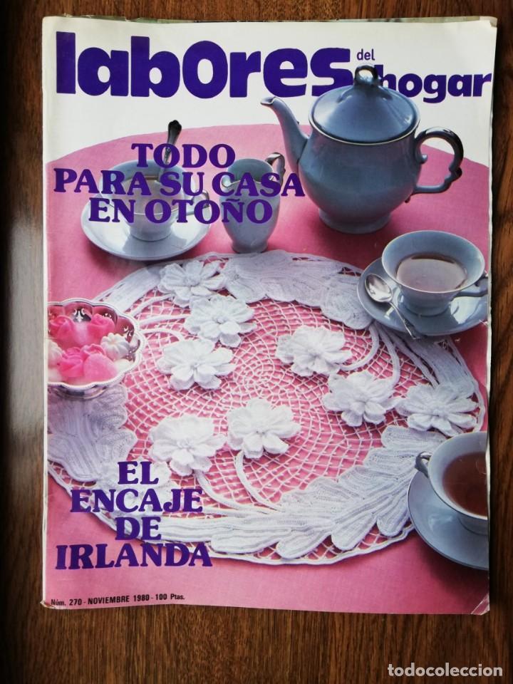 REVISTA LABORES DEL HOGAR NOVIEMBRE 1980 N 270 (Coleccionismo - Revistas y Periódicos Modernos (a partir de 1.940) - Otros)