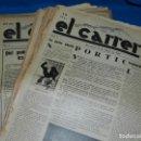 Coleccionismo de Revistas y Periódicos: (M) REVISTA D'ESQUERRES - EL CARRER BARCELONA 28 DE JULIOL 1932 - 1933 , COMPLETA A FALTA DE 2 NUM.. Lote 148056438