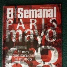 Coleccionismo de Revistas y Periódicos: SUPLEMENTO EL SEMANAL / PARÍS, MAYO 68 / Nº 548 - 1998. Lote 148080362