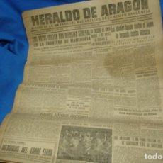 Coleccionismo de Revistas y Periódicos: HERALDO DE ARAGÓN - ZARAGOZA 10 DE AGOSTO DE 1945. Lote 148095598