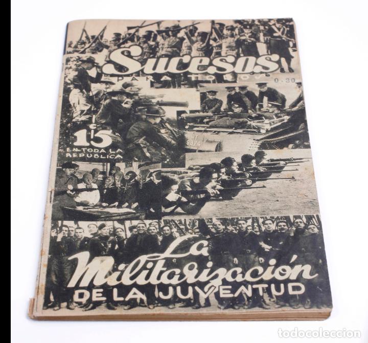 REVISTA SUCESOS PARA TODOS, FEBRERO DE 1935, MÉXICO. 29X19,5CM (Coleccionismo - Revistas y Periódicos Antiguos (hasta 1.939))