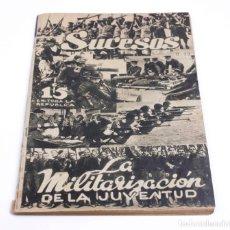 Coleccionismo de Revistas y Periódicos: REVISTA SUCESOS PARA TODOS, FEBRERO DE 1935, MÉXICO. 29X19,5CM. Lote 148167250