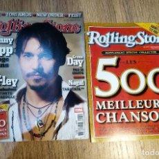 Coleccionismo de Revistas y Periódicos: REVISTA ROLLING STONE MARZO 2005 (EN FRANCÉS) CON SUPLEMENTO DE LAS MEJORES 500 CANCIONES. Lote 148192598