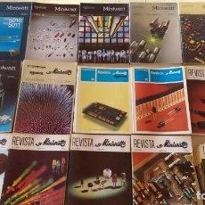 Coleccionismo de Revistas y Periódicos: LOTE REVISTA MINIWATT (146 REVISTAS) . Lote 148207834