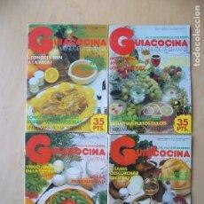 Coleccionismo de Revistas y Periódicos: LOTE 4 REVISTAS GUIACOCINA (AÑOS 80) NOS. 13, 14, 16, 20. Lote 148210978