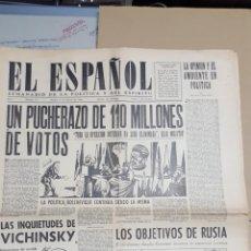 Coleccionismo de Revistas y Periódicos: EL ESPAÑOL.- NUMERO 173 DEL 16 FEBRERO 1946.- SAN ANTONIO DE LISBOA. Lote 148221142