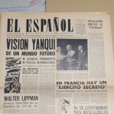 Coleccionismo de Revistas y Periódicos: EL ESPAÑOL.- NUMERO 80 DEL 6 MAYO 1944.- LAS LOGIAS MASONICAS INVADEN RUSIA. Lote 148222994