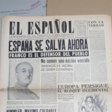 Coleccionismo de Revistas y Periódicos: EL ESPAÑOL.- NUMERO 153 DEL 29 SEPTIEMBRE 1945.- COMO VIVE UN CAMPEON DE AJEDREZ. Lote 148224858