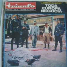 Coleccionismo de Revistas y Periódicos: TRIUNFO , Nº 531 , 1972 : LA MUERTE DEL MUNDO EN TECHNICOLOR, ETC. Lote 148225962