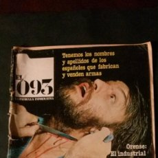 Coleccionismo de Revistas y Periódicos: EL 093-Nº 7-1978-REVISTA DE SUCESOS-LA MAFIA DEL TAXI-ORENSE-TELEPATÍA-EL JARABO. Lote 148227830
