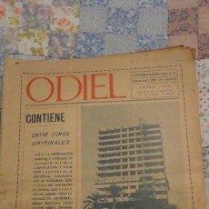 Coleccionismo de Revistas y Periódicos: ODIEL.SUPLEMENTO DEDICADO A LA CONSTRUCCION EN HUELVA ENERO 1969. Lote 148228190