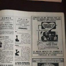 Coleccionismo de Revistas y Periódicos: SUMMERS POR QUE TE ENGAÑA TU MARIDO ALFREDO LANDA EL GRADUADO DUSTIN HOFFMAN . Lote 148244934