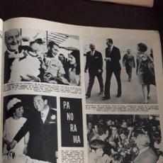 Coleccionismo de Revistas y Periódicos: RICHARD NIXON SALOME EUROVISION LA REINA SOFIA DON JUAN CARLOS . Lote 148245198