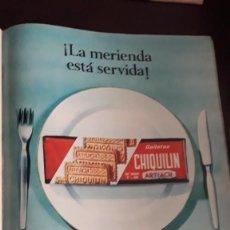 Coleccionismo de Revistas y Periódicos: ANUNCIO GALLETAS CHIQUILIN ARTIACH . Lote 148245282