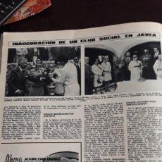 Coleccionismo de Revistas y Periódicos: CLUB SOCIAL JAVEA MAGEFESA. Lote 148245534