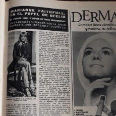 Coleccionismo de Revistas y Periódicos: MARIANNE FAITHFULL . Lote 148245886