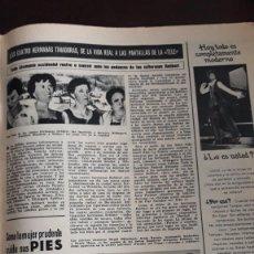 Coleccionismo de Revistas y Periódicos: LAS SOLTERONAS REBBERT LAS CUATRO HERMANAS SOLTERONAS . Lote 148246006