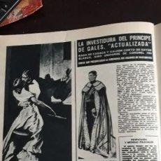 Coleccionismo de Revistas y Periódicos: ANUNCIO PERFUME TABU LA INVESTIDURA DEL PRINCIPE DE GALES. Lote 148246134