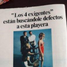 Coleccionismo de Revistas y Periódicos: ANUNCIO NUREL TEJIDOS. Lote 148246318