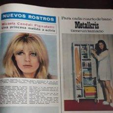 Coleccionismo de Revistas y Periódicos: MICAELA CENDALI PIGNATELLI METALKRIS. Lote 148246398