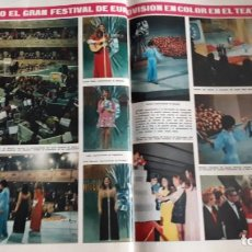 Coleccionismo de Revistas y Periódicos: FEATIVAL EUROVISION ESPAÑA MASSIEL SALOME LULU LENNY KUHR, FRIDA BOCCARA. Lote 148246542