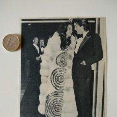 Coleccionismo de Revistas y Periódicos: RECORTE REVISTA ORIGINAL AÑOS 60-70.FLORINDA BOLKAN,ACTRIZ BRASILEÑA, EN LONDRES. Lote 148173178