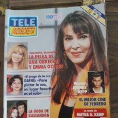 Coleccionismo de Revistas y Periódicos: TELEINDISCRETA. 469. ANA OBREGÓN.. Lote 148287468