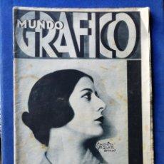 Coleccionismo de Revistas y Periódicos: REVISTA MUNDO GRÁFICO- ARTISTA CONCHITA PIQUER EN PORTADA, 13 MAYO 1931.. Lote 148412433