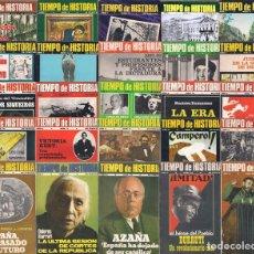 Coleccionismo de Revistas y Periódicos: REVISTA TIEMPO DE HISTORIA - AÑOS 1974 A1982 - NÚMEROS 1 A 93 - COLECCIÓN COMPLETA. Lote 148452602