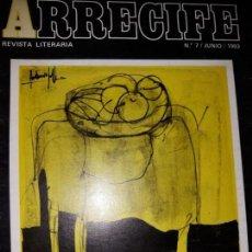 Coleccionismo de Revistas y Periódicos: REVISTA LITERARIA ARRECIFE Nº 7 1983 ILUSTRACIÓN MENGUAL TORRES SOREN PEÑALVER POESÍA NARRATIVA CRÍT. Lote 148469326