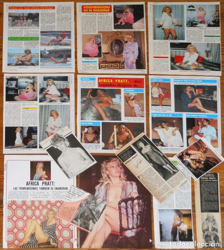 Africa Pratt Colección Prensa 1970s Fotos Desnuda Spanish Actress Nude Clippings Destape
