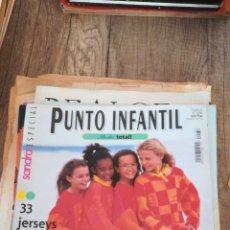 Coleccionismo de Revistas y Periódicos: REVISTA DE PUNTO SANDRA 4 * PUNTO INFANTIL * 33 JERSEYS * 49. Lote 148523322