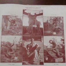 Coleccionismo de Revistas y Periódicos: MONUMENTO A ALFONSO XII HOJA REVISTA AÑO 1910. Lote 148546830