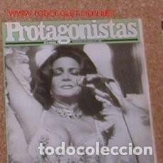 Coleccionismo de Revistas y Periódicos: REVISTA PROTAGONISTAS 229 * SARA MONTIEL + RONALD REAGAN + MARILYN * 50. Lote 148560666