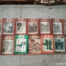 Coleccionismo de Revistas y Periódicos: EXTRAORDINARIO LOTE DE MAS DE 700 REVISTAS MUNDO - R. INTERNACIONAL DE POLÍTICA EXTERIOR Y ECONOMÍA . Lote 148564806