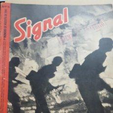 Coleccionismo de Revistas y Periódicos: REVISTA SIGNAL.- AGOSTO 1941.- NUMERO 15.- 48 PAGINAS. Lote 148683410