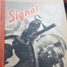 Coleccionismo de Revistas y Periódicos: REVISTA SIGNAL.- MAYO 1942.- NUMERO 9.- 48 PAGINAS. Lote 148683878
