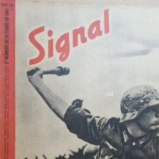 Coleccionismo de Revistas y Periódicos: REVISTA SIGNAL.- OCTUBRE 1941.- NUMERO 20.- 48 PAGINAS. Lote 148684018
