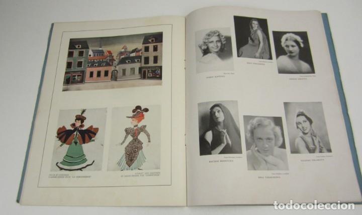 Coleccionismo de Revistas y Periódicos: Ballets rusos de Monte Carlo, W. de Basil, 1935, Madrid, Barcelona, Valencia. 31x23,5cm - Foto 3 - 148772794