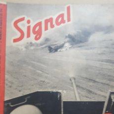 Coleccionismo de Revistas y Periódicos: REVISTA SIGNAL.- AGOSTO 1941.- NUMERO 16.- 56 PAGINAS. Lote 148779558