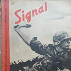 Coleccionismo de Revistas y Periódicos: REVISTA SIGNAL.- OCTUBRE 1941.- NUMERO 20.- 48 PAGINAS. Lote 148779690