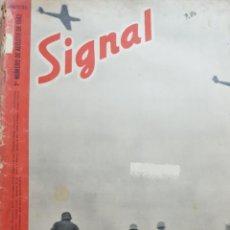 Coleccionismo de Revistas y Periódicos: REVISTA SIGNAL.- AGOSTO 1942.- NUMERO 15.- 40 PAGINAS. Lote 148780046