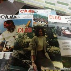 Coleccionismo de Revistas y Periódicos: ESPECTACULAR LOTE DE 17 REVISTAS DE CLUB. Lote 148826326
