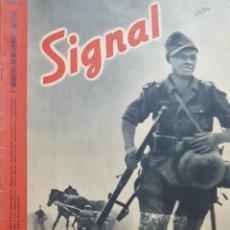 Coleccionismo de Revistas y Periódicos: REVISTA SIGNAL.- NOVIEMBRE 1942.- NUMERO 21.- 40 PAGINAS. Lote 148827614