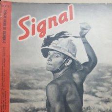 Coleccionismo de Revistas y Periódicos: REVISTA SIGNAL.- ENERO 1942.- NUMERO 2.- 48 PAGINAS. Lote 148828426